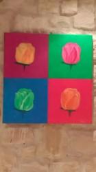 """Tableau """"Tulipes"""""""